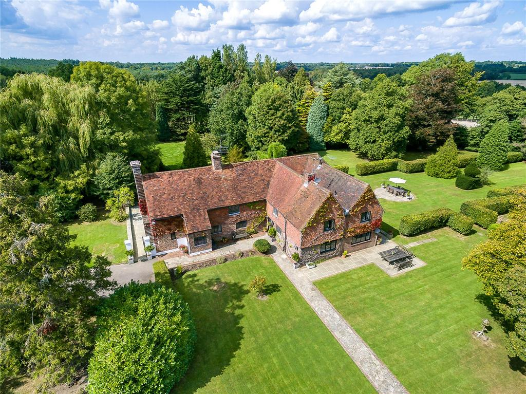 5 Bedrooms Detached House for sale in Whitesmith, Nr Lewes, East Sussex