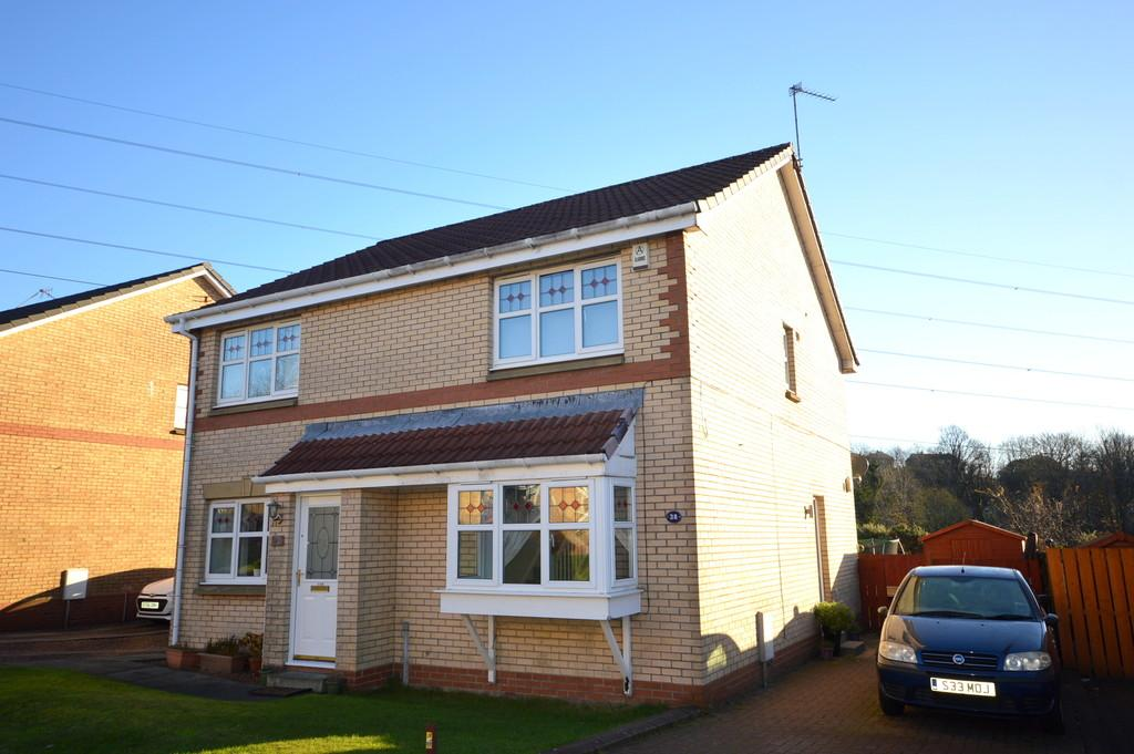 2 Bedrooms Semi Detached House for sale in Bute Place, Old Kilpatrick G60 5AP
