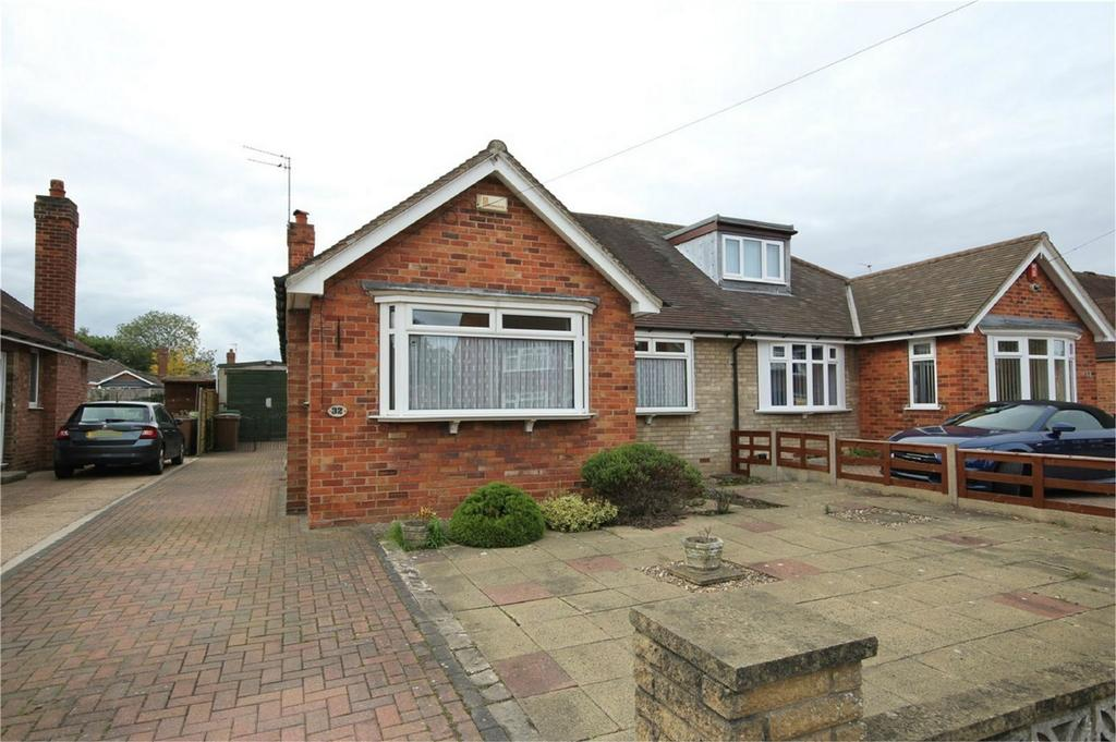 2 Bedrooms Semi Detached Bungalow for sale in Oakdene, Cottingham, East Riding of Yorkshire