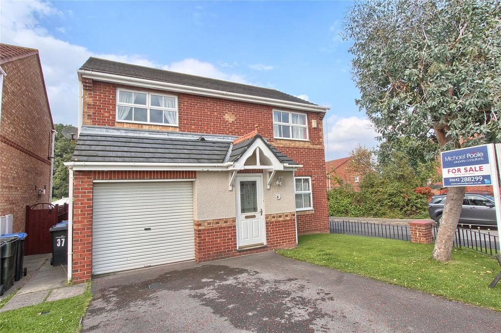 4 Bedrooms Detached House for sale in Barberry, Coulby Newham