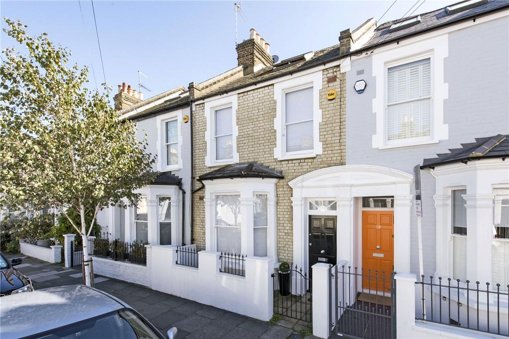 4 Bedrooms Terraced House for sale in Burnthwaite Road, London, SW6