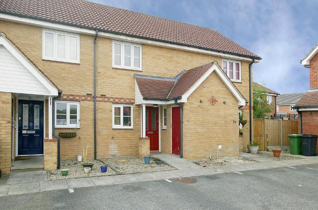 2 Bedrooms Terraced House for sale in Brunswick Close, Toftwood