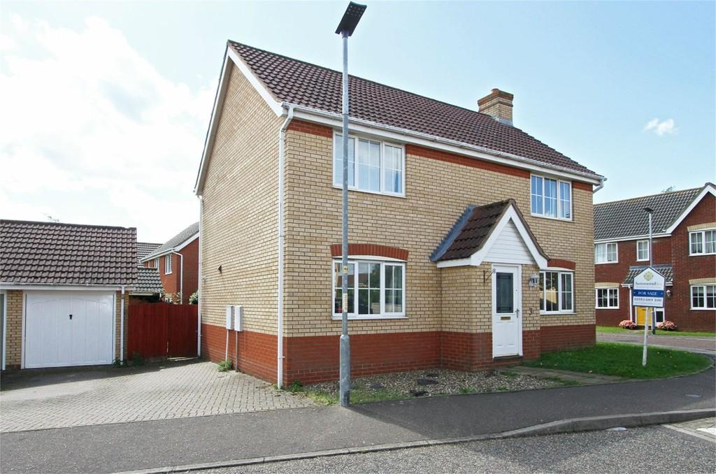 4 Bedrooms Detached House for sale in Mallow Way, Wymondham