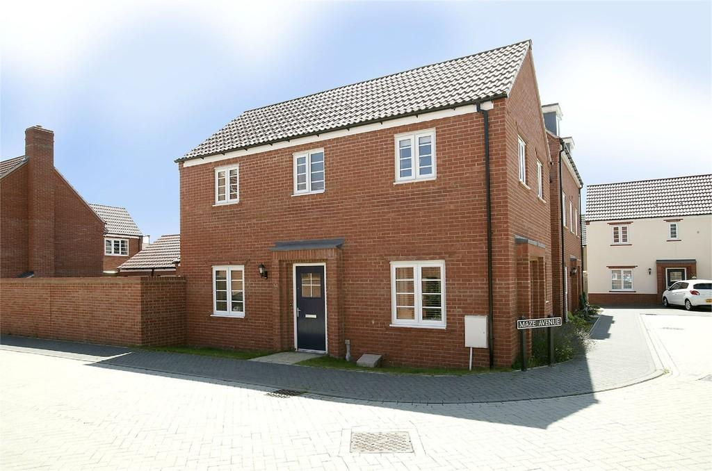 3 Bedrooms Link Detached House for sale in Maze Avenue, Costessey