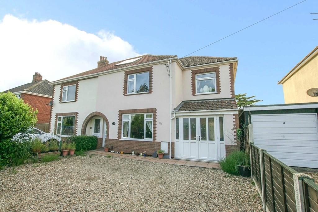 3 Bedrooms Semi Detached House for sale in Middletons Lane, Hellesdon