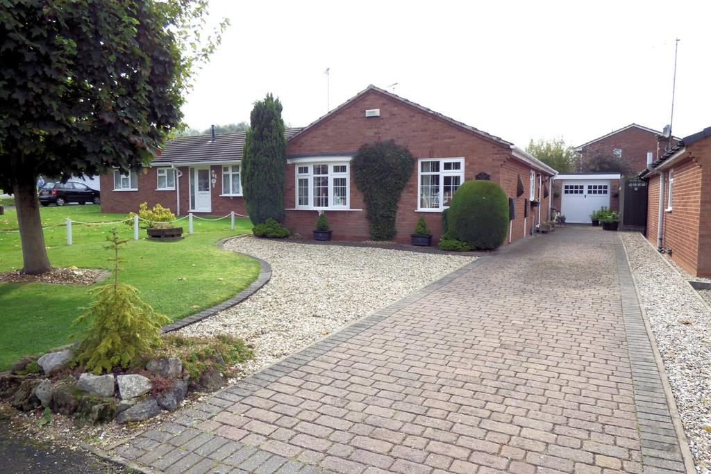 2 Bedrooms Detached Bungalow for sale in Meadow View, Rolleston-on-Dove