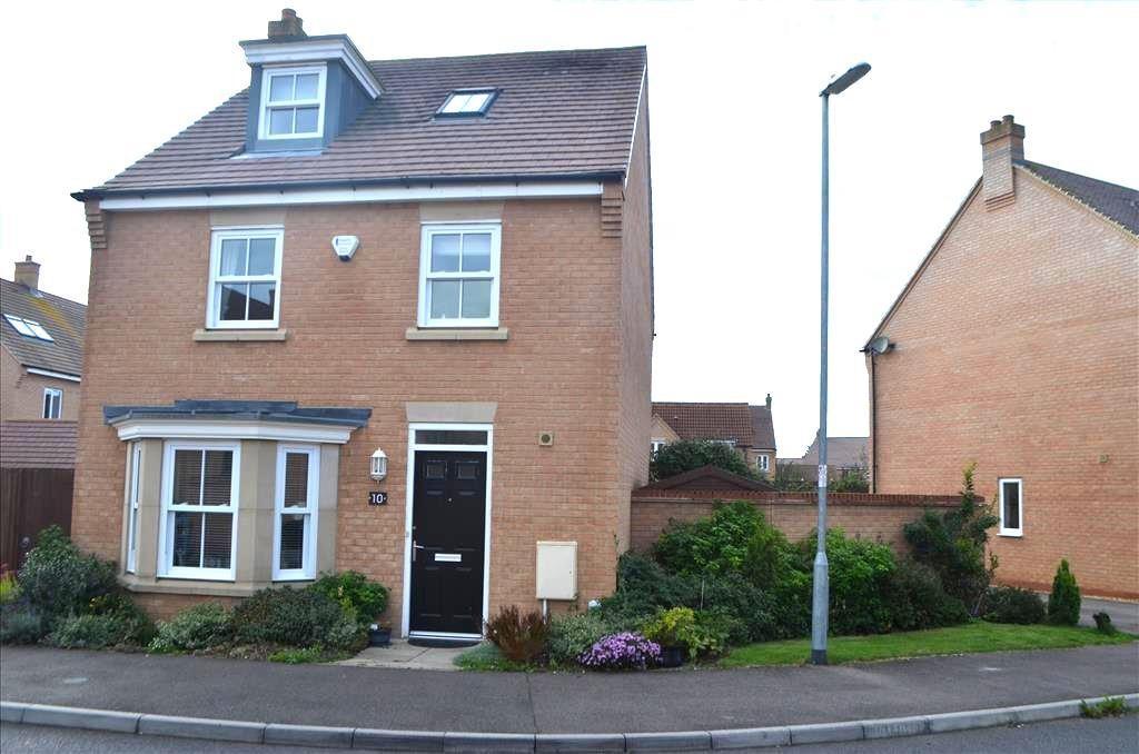 4 Bedrooms Detached House for sale in Exmoor Avenue, Biggleswade, SG18