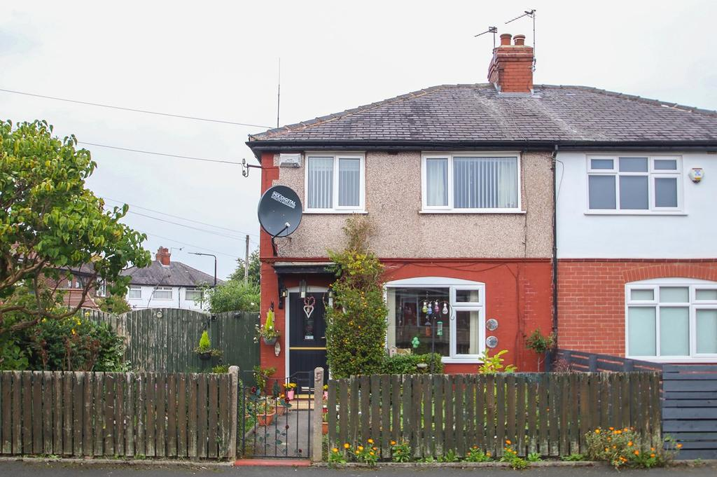 3 Bedrooms Semi Detached House for sale in Granville Road, Urmston, Manchester, M41