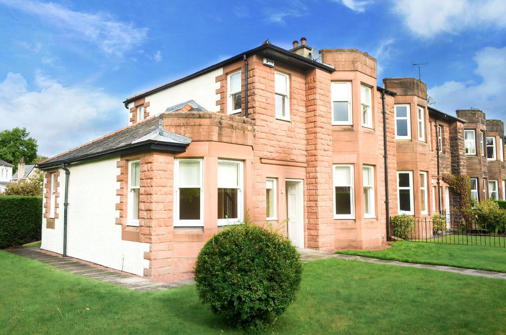 3 Bedrooms End Of Terrace House for sale in Herries Road, Pollokshields, Glasgow, G41 4AN