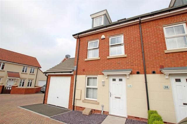 4 Bedrooms Terraced House for sale in Peploe Way, Bridgwater