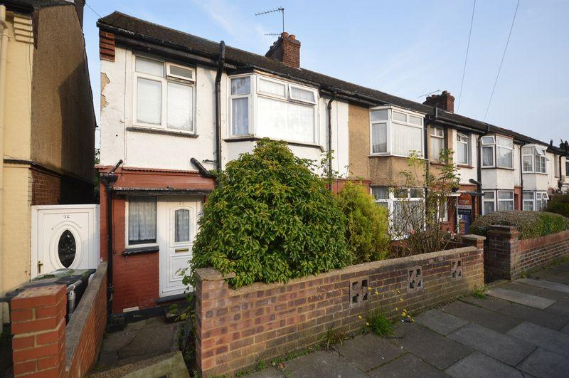 3 Bedrooms End Of Terrace House for sale in Atherstone Road, Luton