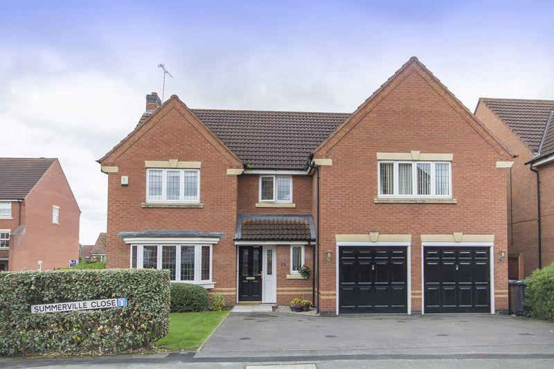5 Bedrooms Detached House for sale in SUMMERVILLE CLOSE, LITTLEOVER