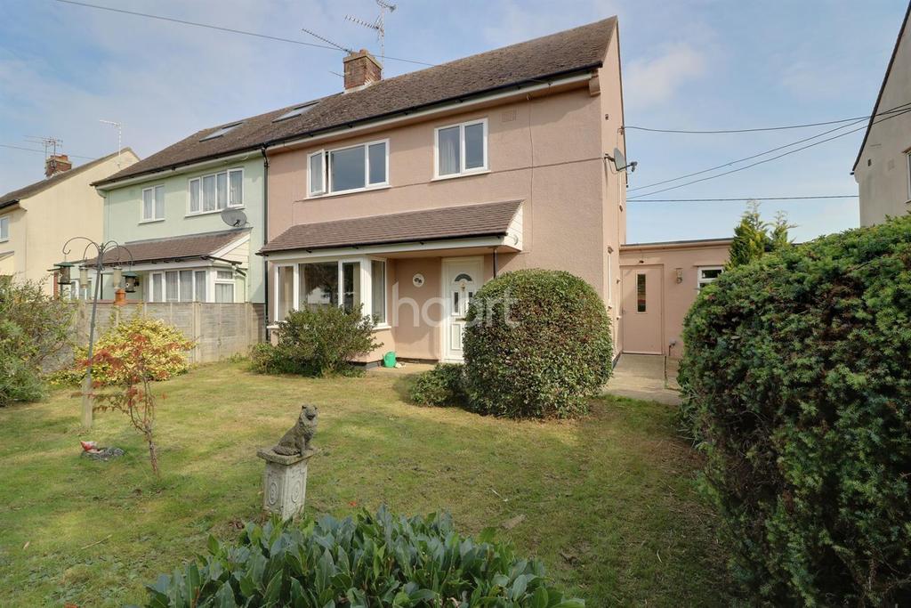 3 Bedrooms Semi Detached House for sale in Haugh Lane, Woodbridge