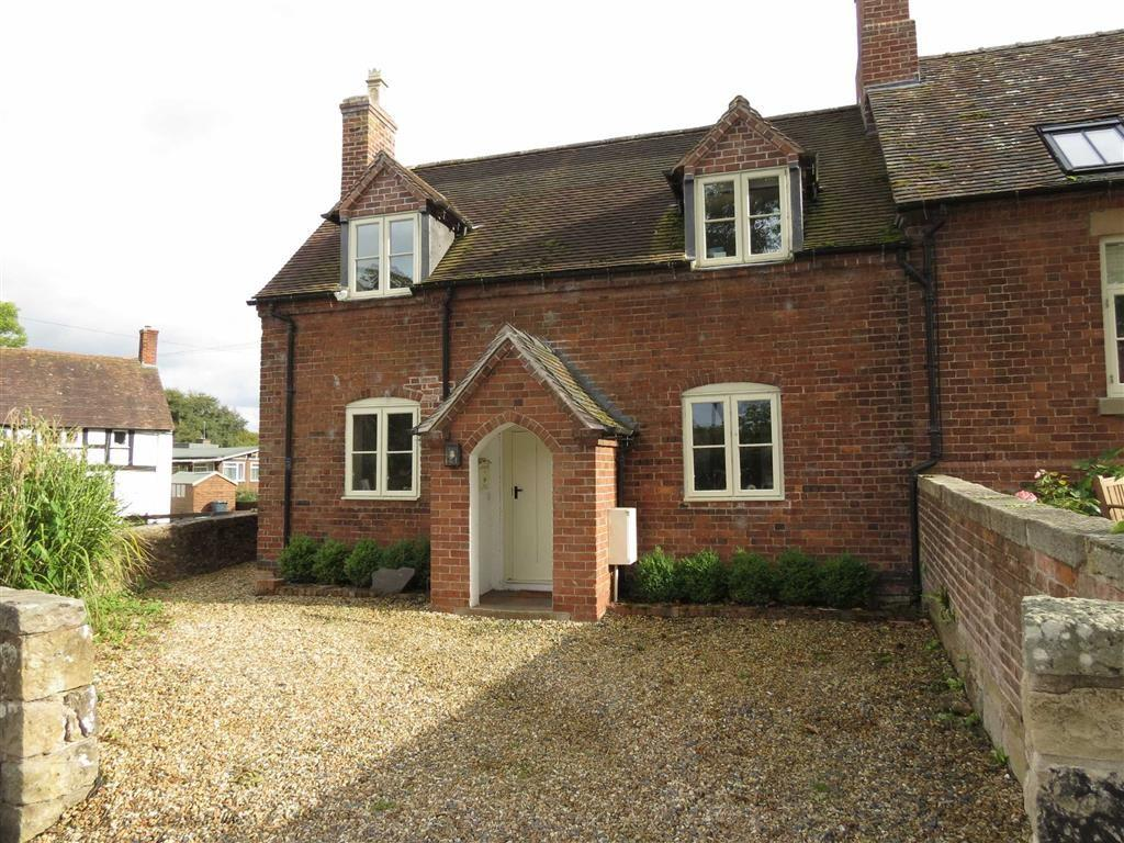 3 Bedrooms Semi Detached House for sale in Longnor, Shrewsbury, Shropshire