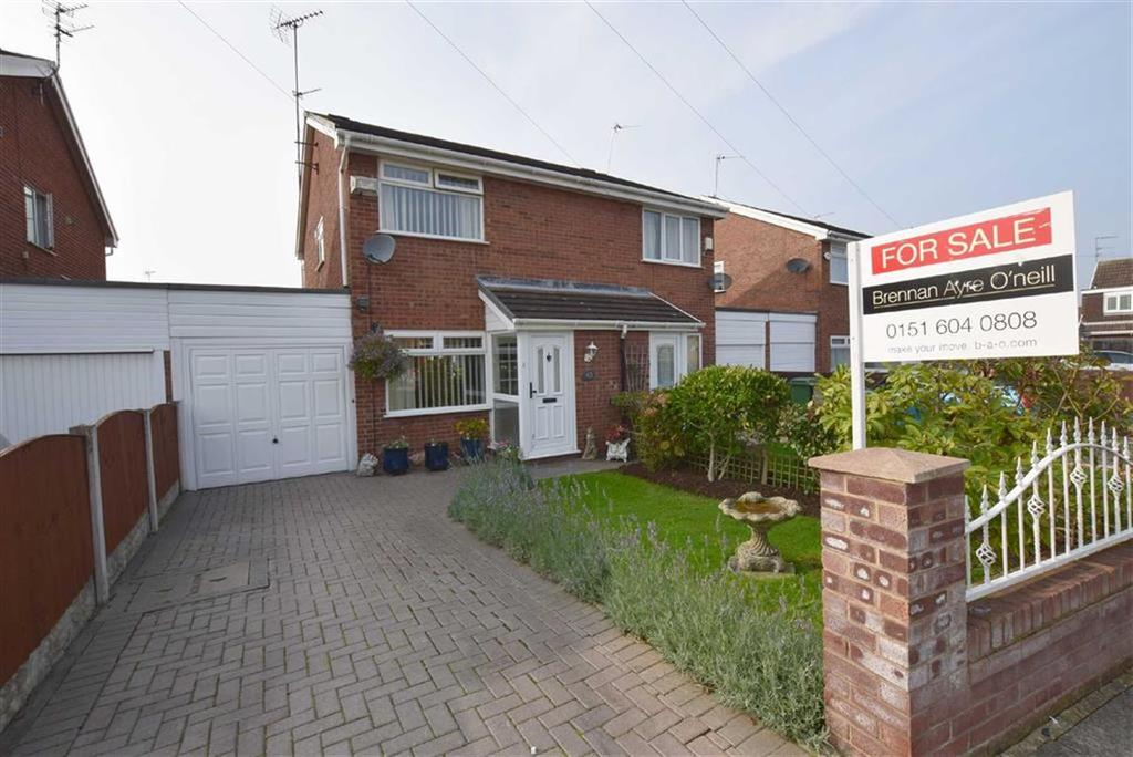 2 Bedrooms Semi Detached House for sale in Kingfisher Way, CH49