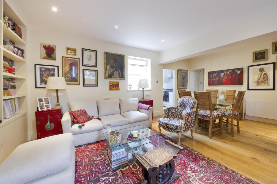 2 Bedrooms Flat for sale in Rockley Road, Brook Green W14