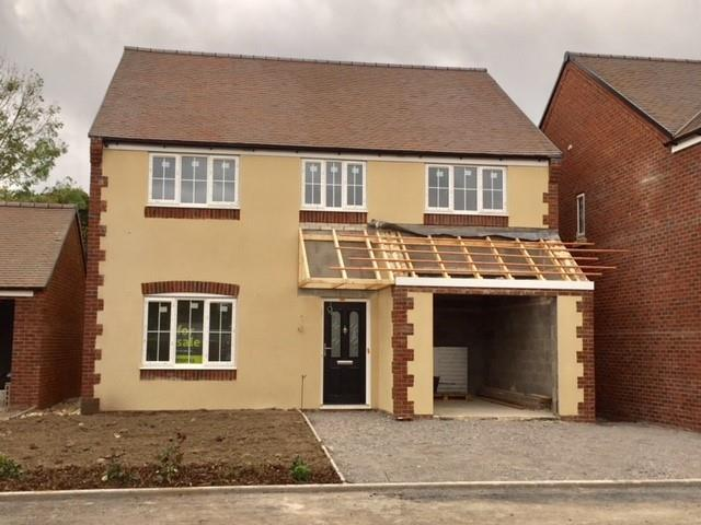 4 Bedrooms Detached House for sale in Plot 4, Bell View, Cross Houses, Shrewsbury