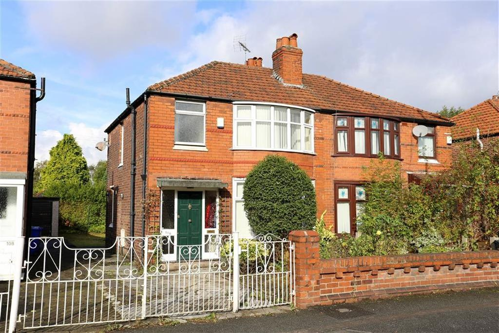 3 Bedrooms Semi Detached House for sale in Parrs Wood Road, Withington, Manchester