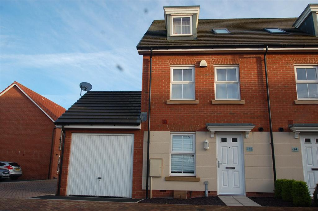 4 Bedrooms End Of Terrace House for sale in Peploe Way, Bridgwater, Somerset, TA6