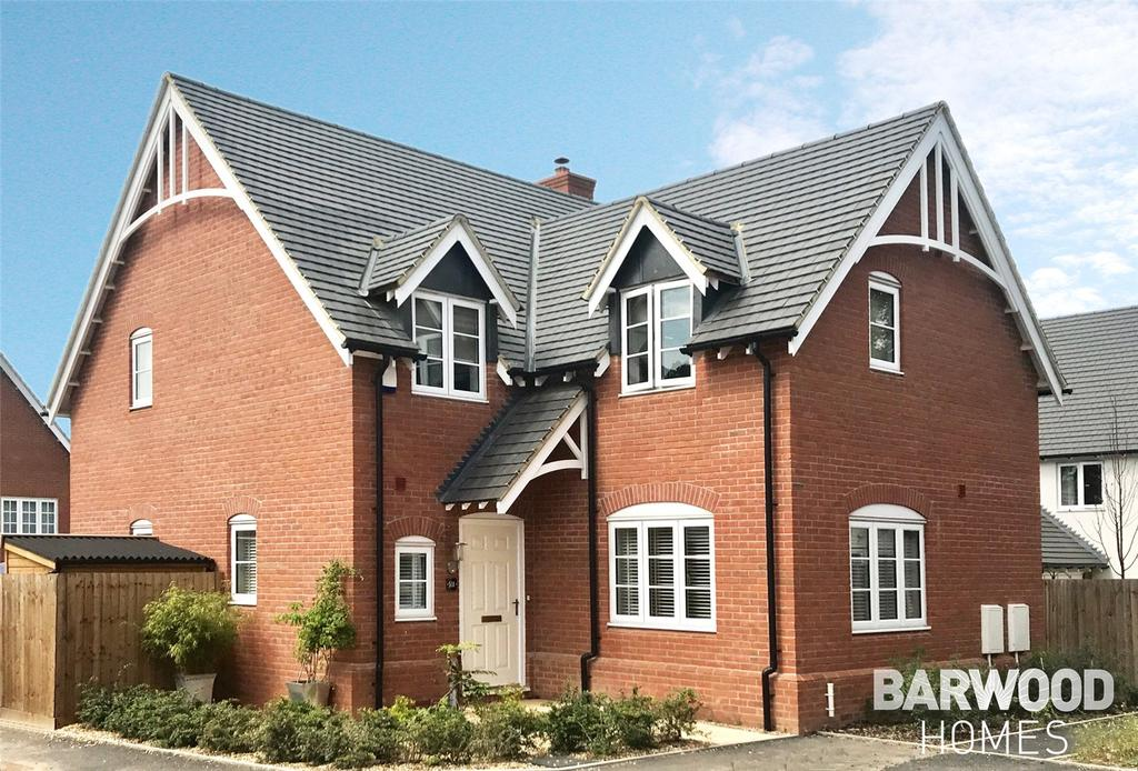 4 Bedrooms Detached House for sale in Stapleford, Kineton Mews, Kineton, Warwick, CV35