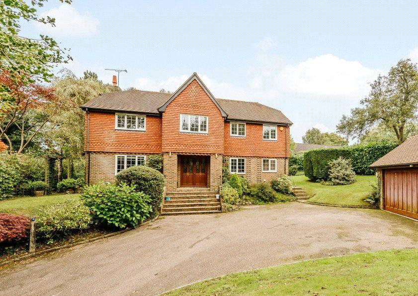 5 Bedrooms Detached House for sale in Slaugham Lane, Warninglid, Haywards Heath, West Sussex