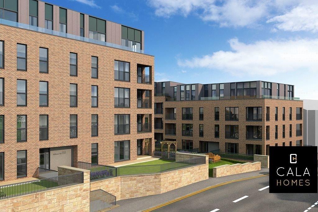 2 Bedrooms Flat for sale in Plot 47, 21 Mansionhouse Road, Langside, Glasgow, G41