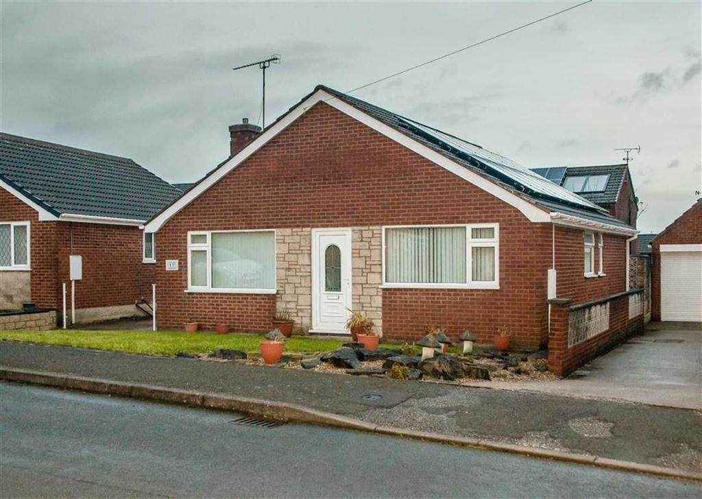 3 Bedrooms Detached Bungalow for sale in Longshaw Close, North Wingfield, Chesterfield, S42