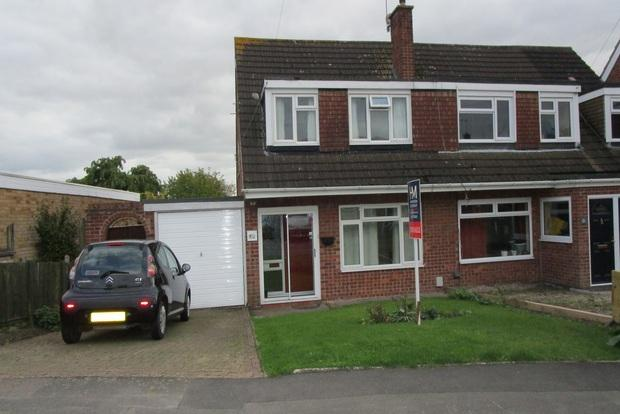 3 Bedrooms Semi Detached House for sale in Coleridge Drive, Enderby, Leicester, LE19