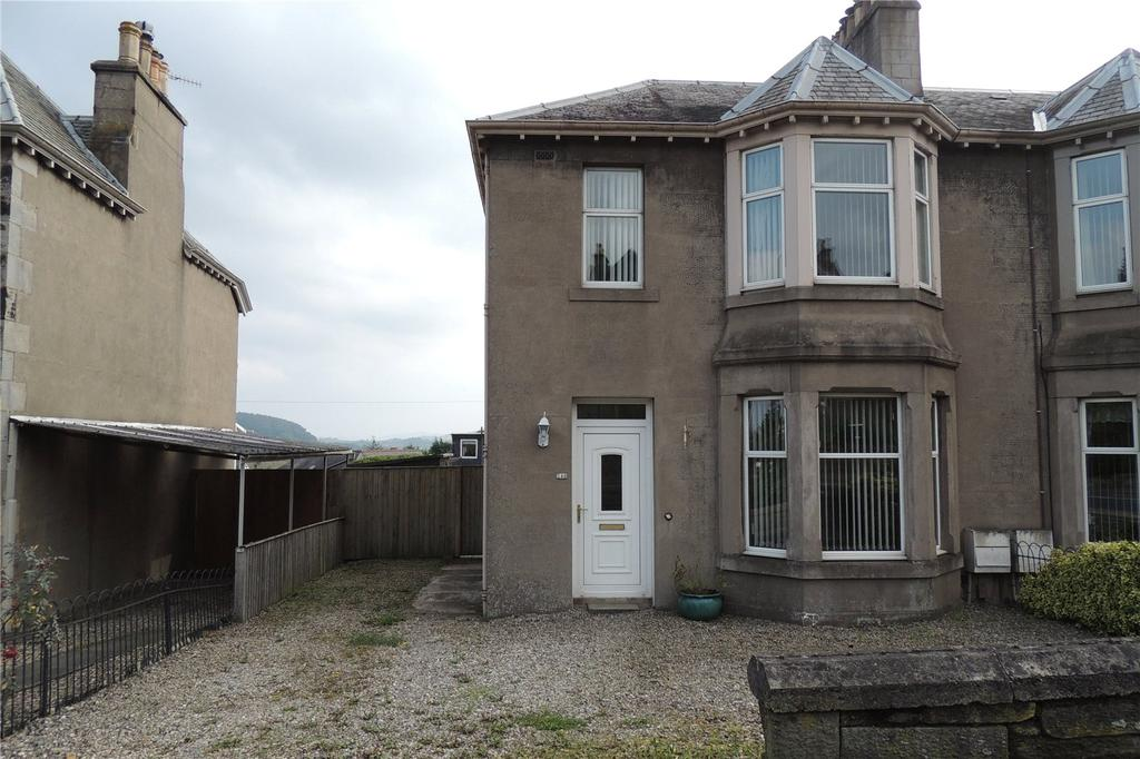 4 Bedrooms Semi Detached House for sale in 146 Glasgow Road, Perth, PH2