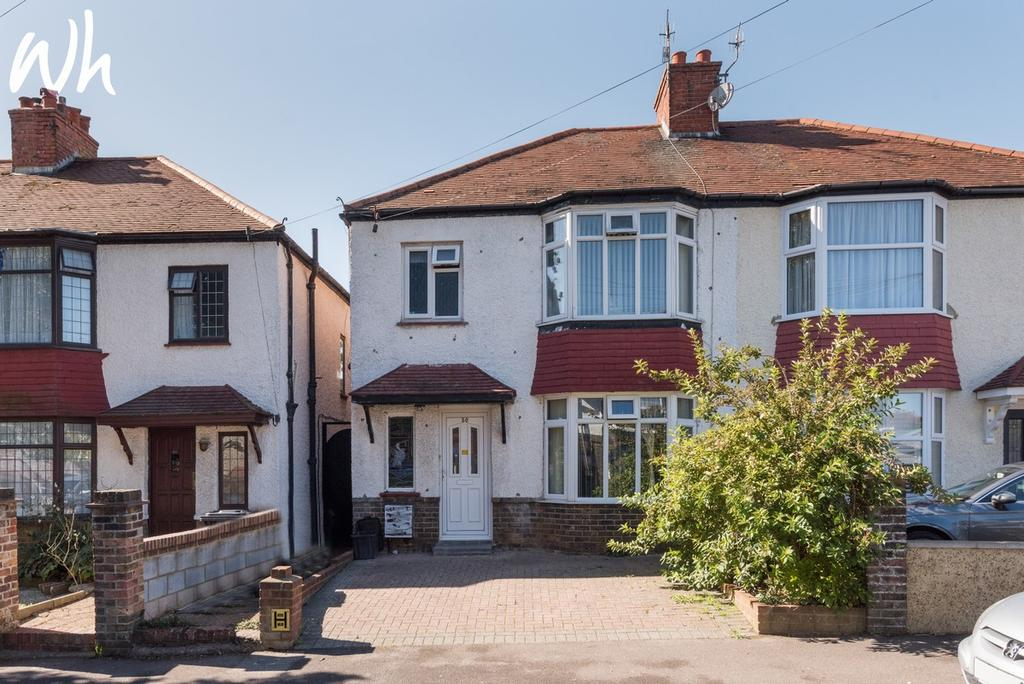3 Bedrooms Semi Detached House for sale in Aldrington Avenue, Hove BN3