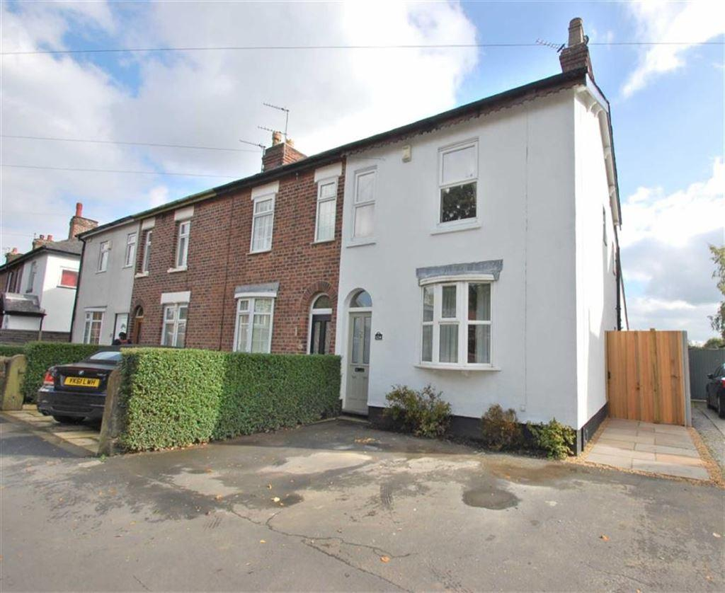 3 Bedrooms End Of Terrace House for sale in Bramhall Lane South, Bramhall, Cheshire