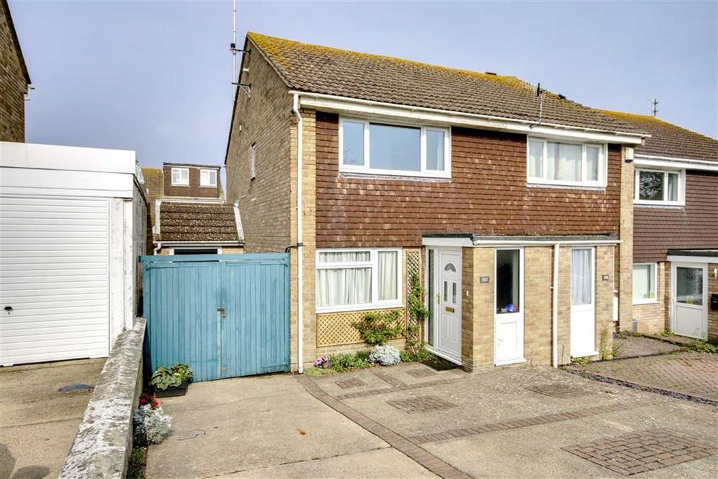 3 Bedrooms Semi Detached House for sale in Barn Rise, Seaford