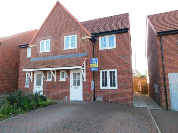 3 Bedrooms Semi Detached House for sale in FOUNDRY CLOSE, COXHOE, DURHAM CITY : VILLAGES EAST OF