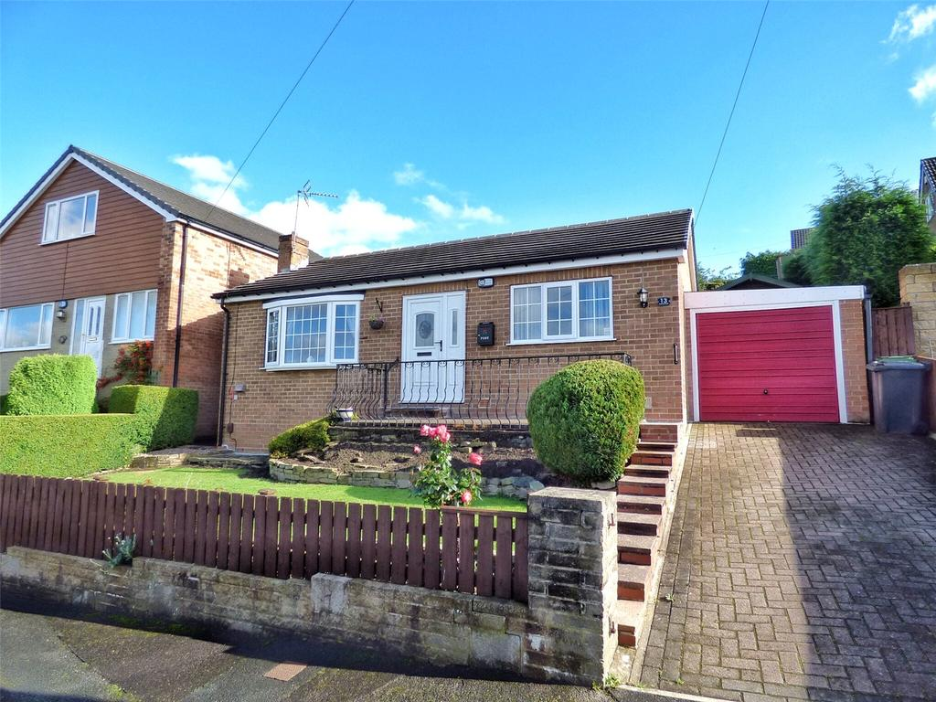 2 Bedrooms Detached Bungalow for sale in Fenay Bankside, Fenay Bridge, Huddersfield, West Yorkshire, HD8