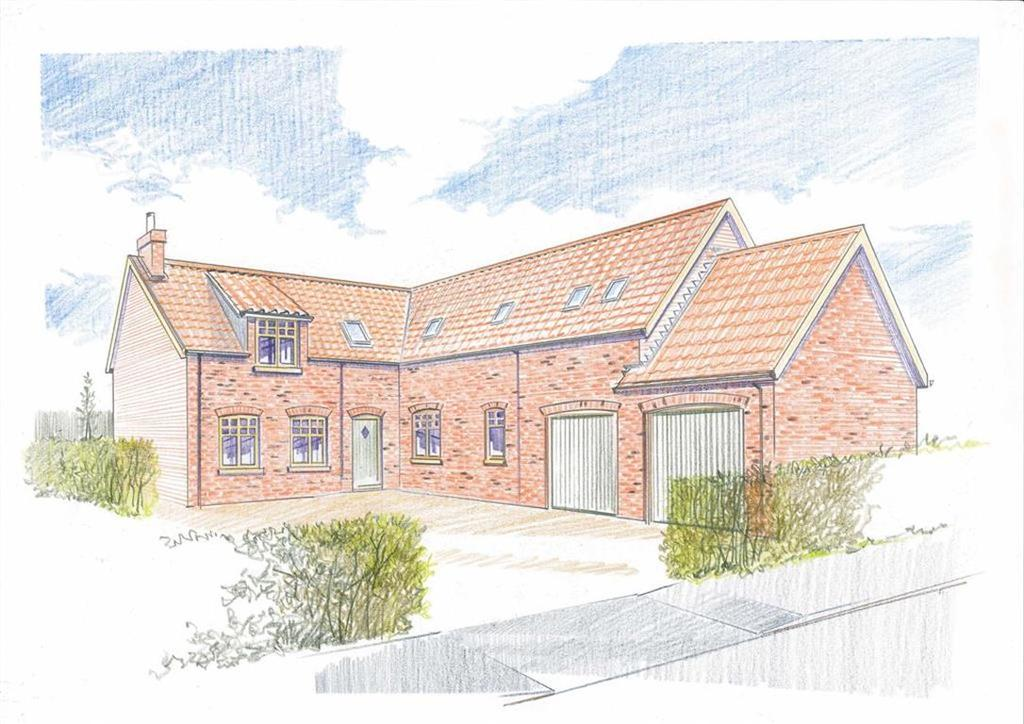 4 Bedrooms Detached House for sale in Old Main Road, Scamblesby, Louth, Lincolnshire