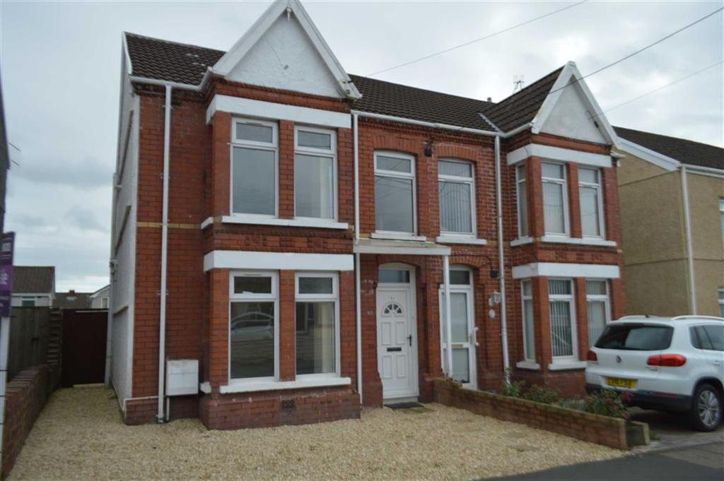 3 Bedrooms Semi Detached House for sale in Coalbrook Road, Swansea, SA4