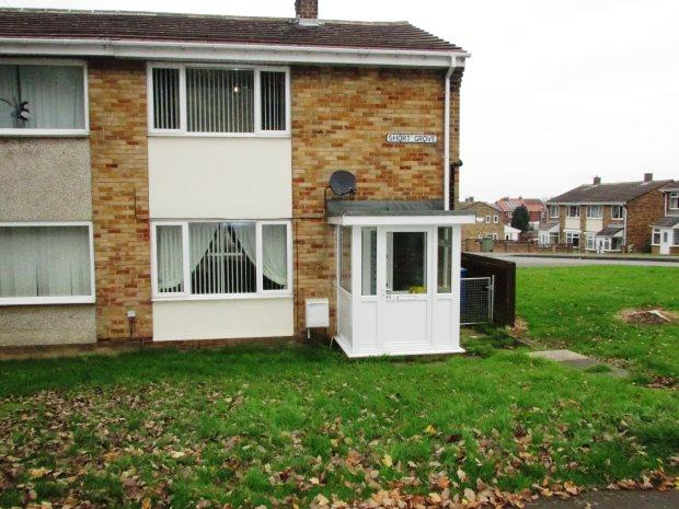 2 Bedrooms Semi Detached House for sale in SHORT GROVE, MURTON, SEAHAM DISTRICT