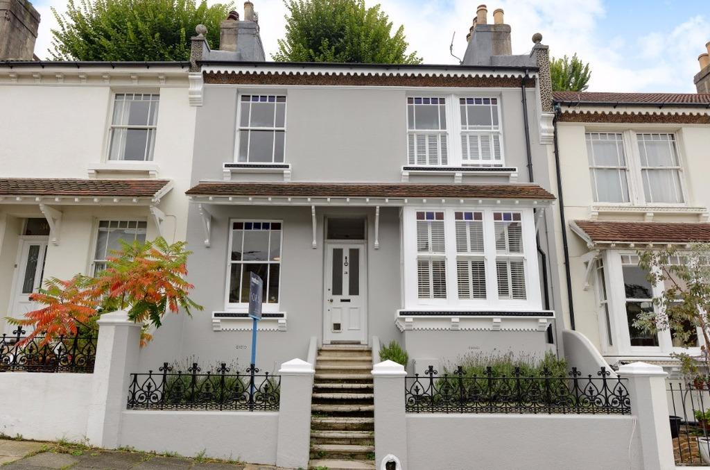 3 Bedrooms Terraced House for sale in Kingsley Road Brighton East Sussex BN1
