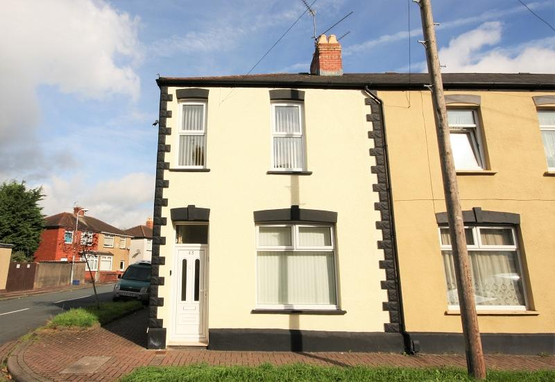 3 Bedrooms End Of Terrace House for sale in Dewstow Street, Newport, Newport. NP19 0FT