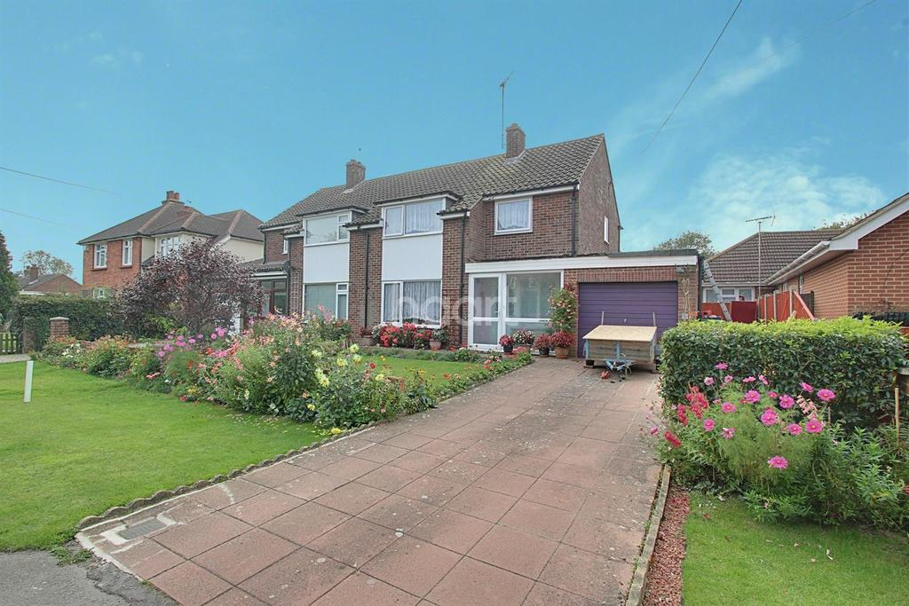 3 Bedrooms Semi Detached House for sale in Western Lane, Silver End, Witham, CM8
