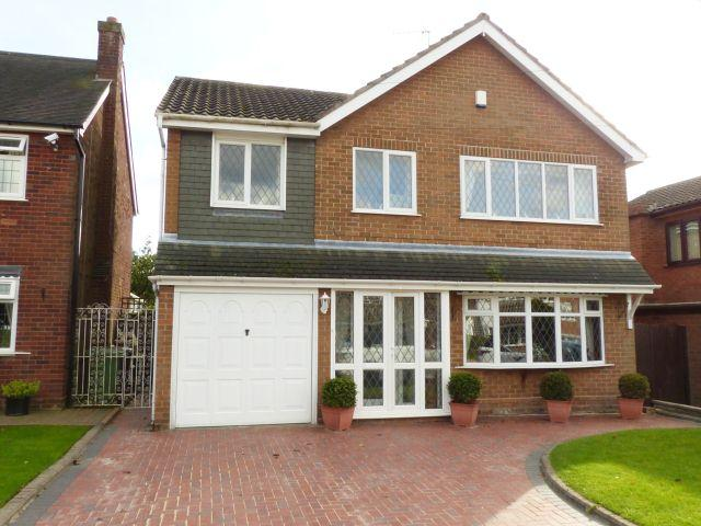 4 Bedrooms Detached House for sale in Daisy Bank Close,Pelsall,Walsall