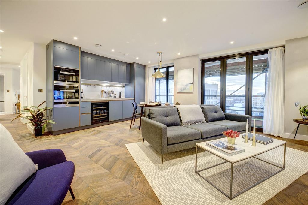 2 Bedrooms Apartment Flat for sale in Hexagon Apartments, Parker Street, WC2B
