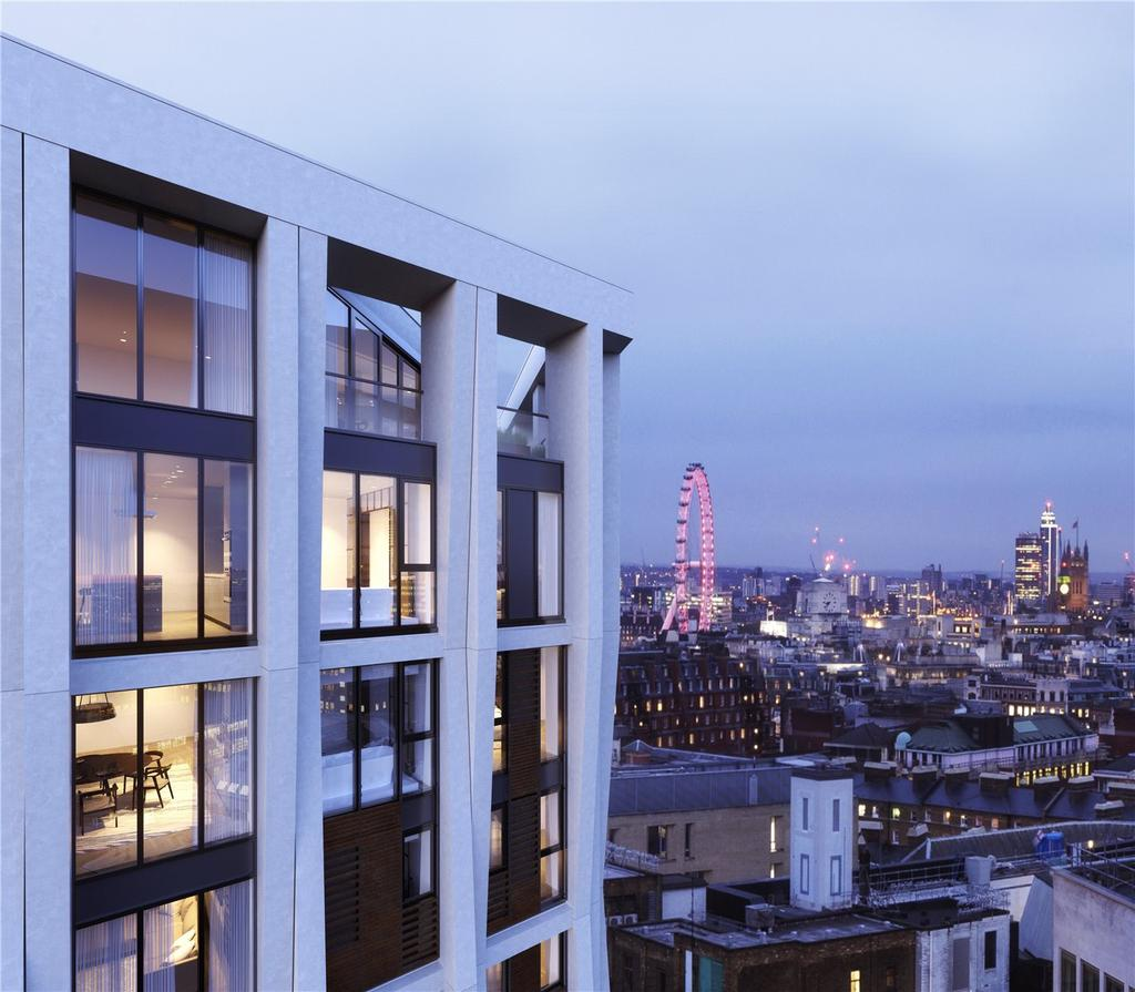 1 Bedroom Apartment Flat for sale in Hexagon Apartments, Parker Street, WC2B