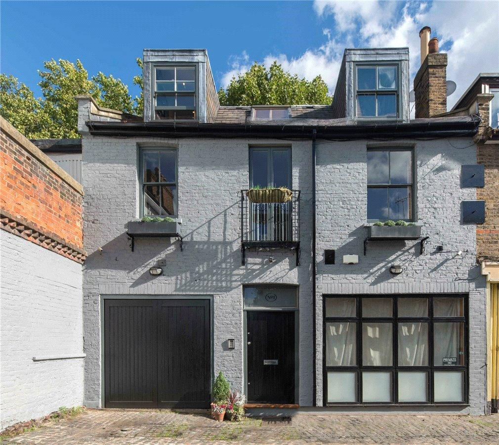 3 Bedrooms Semi Detached House for sale in Eton Garages, Lambolle Place, Belsize Park, NW3
