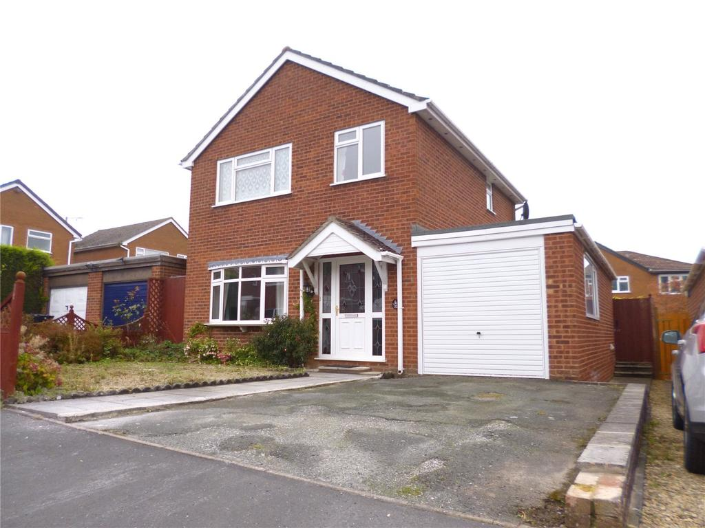 3 Bedrooms Detached House for sale in Sycamore Way, Highley, Bridgnorth, Shropshire
