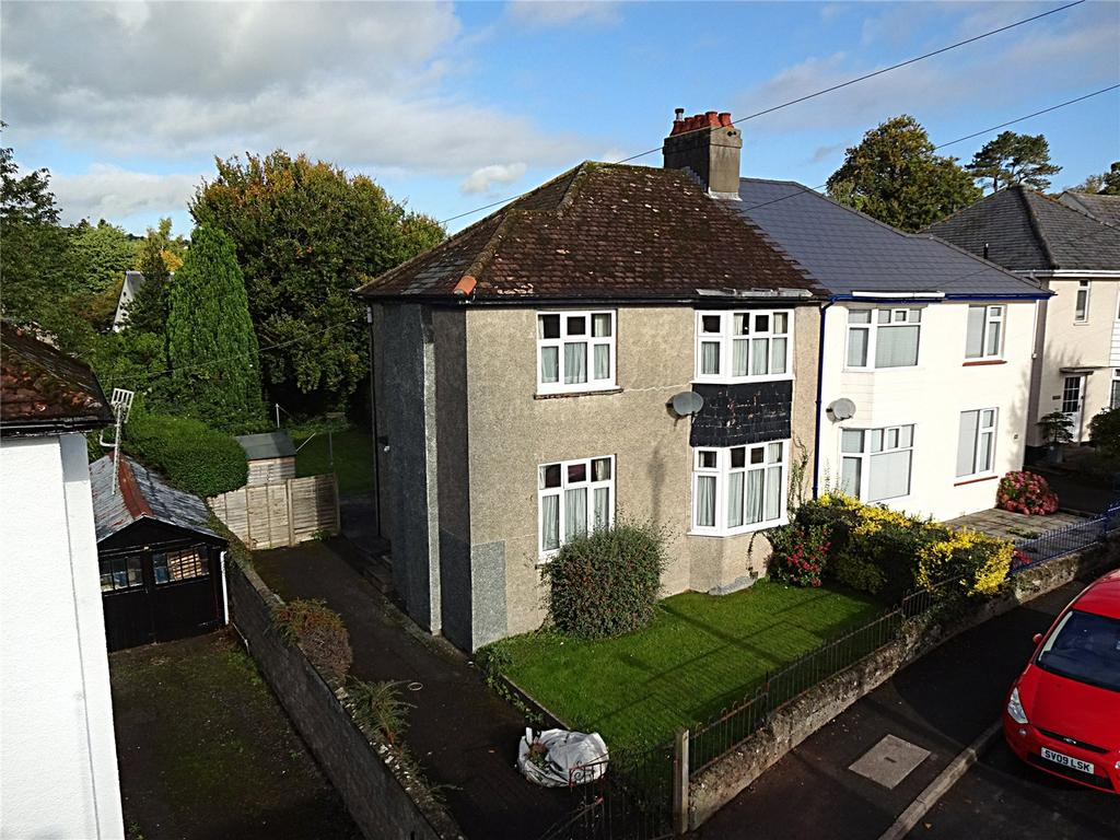 3 Bedrooms Semi Detached House for sale in Belle Vue Gardens, Brecon, Powys