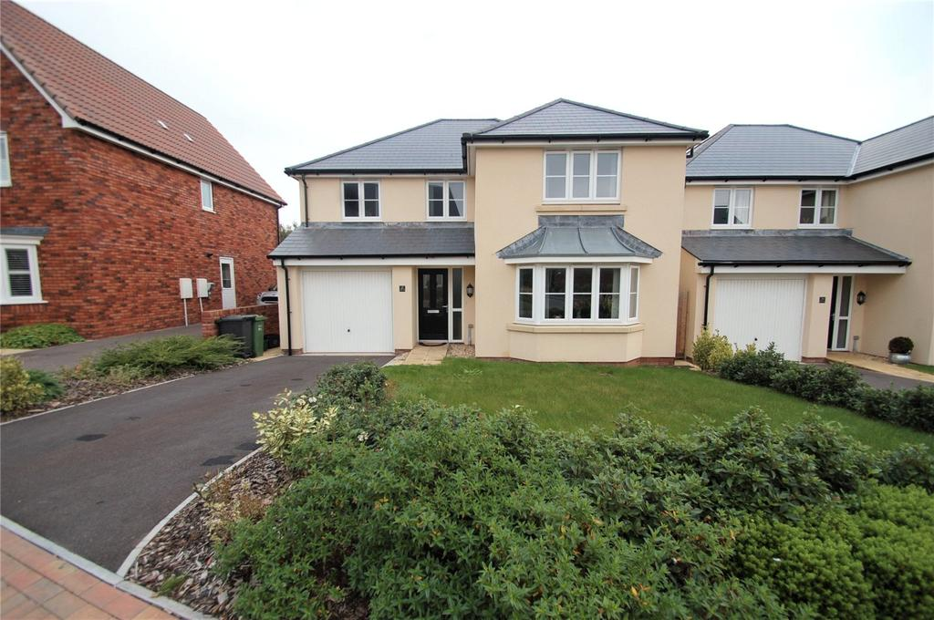 4 Bedrooms Detached House for sale in Cristata Way, Willstock Village, North Petherton, Bridgwater, TA5