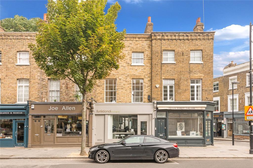 2 Bedrooms Flat for sale in Cross Street, Angel, Islington, London