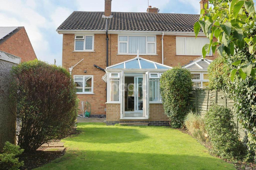 3 Bedrooms Semi Detached House for sale in Martin Avenue, Barrow Upon Soar