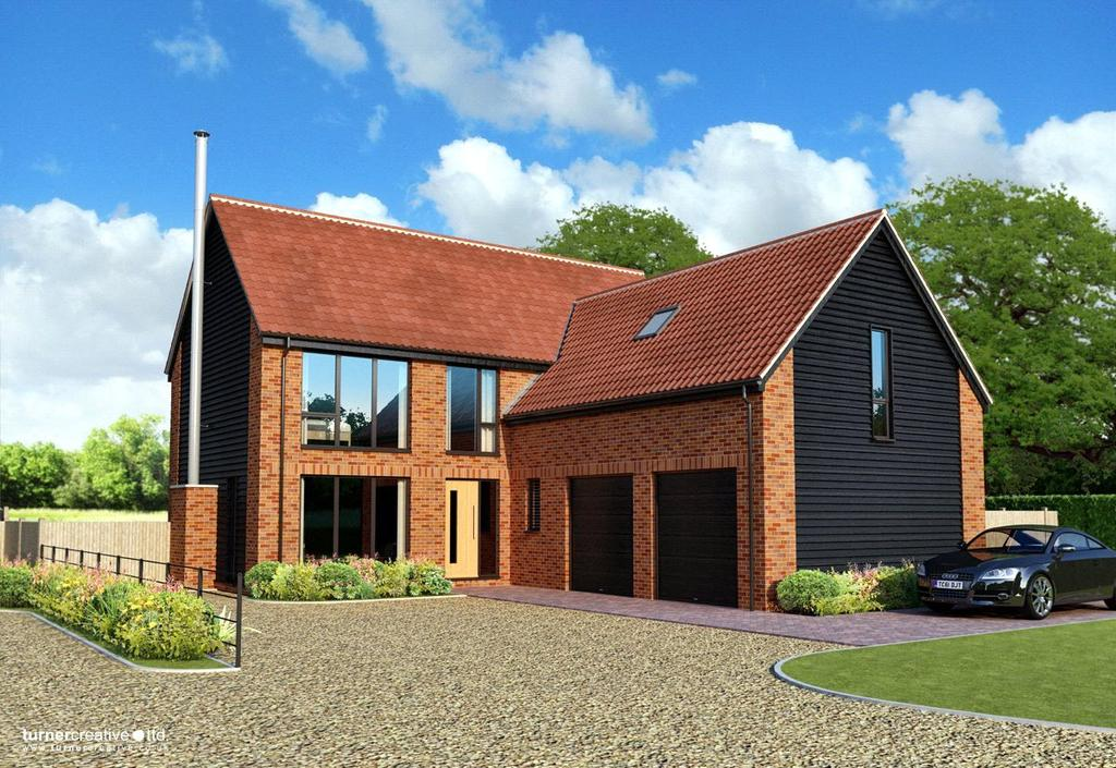 4 Bedrooms Detached House for sale in Plot 2 Intwood Lane, Swardeston, Norwich, NR14